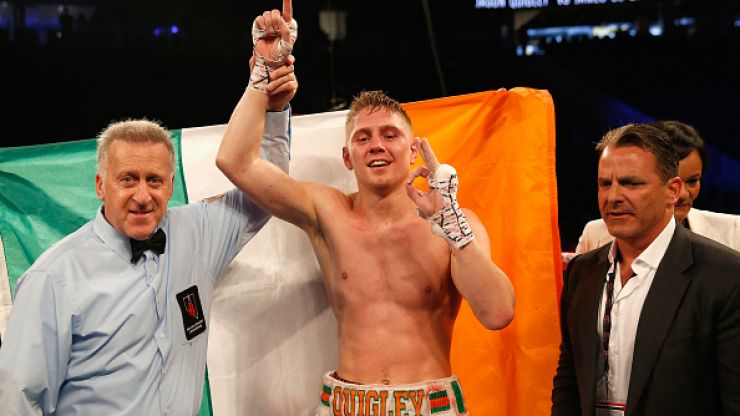 Jason Quigley set to leave America for a return closer to home