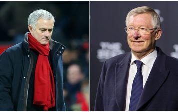 Alex Ferguson has had his say on Jose Mourinho's tactics