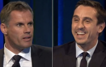 Jamie Carragher and Gary Neville don't see eye-to-eye on England's goalkeeper for the World Cup