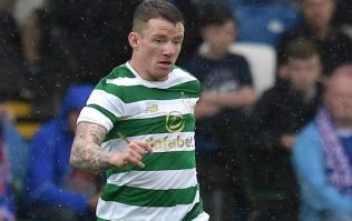 Celtic and Ireland winger Jonny Hayes thanks fans after suffering leg break