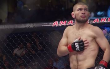 Khabib Nurmagomedov eyeing up potential superfight at featherweight