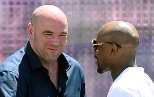 Dana White confirms UFC are in serious discussions with Floyd Mayweather