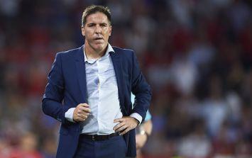Sevilla sack Eduardo Berizzo a month after prostate cancer diagnosis