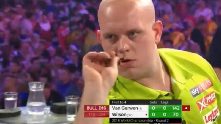 Michael Van Gerwen sounds frightening warning to rest of darts world with whitewash
