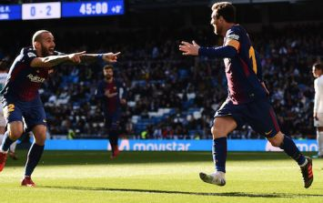 Lionel Messi is so good, he tore through the Real Madrid defence with just one boot