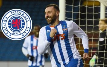 Former Rangers striker Boyd comes back to haunt them