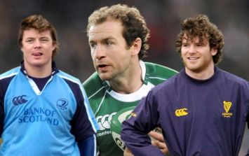 Ireland's most beautiful rugby players to watch of the last 20 years: 10-1