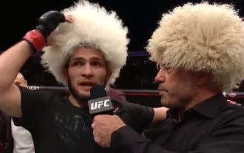 Khabib Nurmagomedov responds to inevitable Conor McGregor question