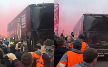 Liverpool issue apology after Man City bus damaged outside Anfield