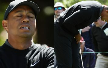 Tiger Woods had a rollercoaster of an opening round at Augusta