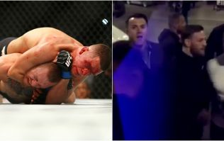 Nate Diaz has taken an interesting view on Conor McGregor's bus attack