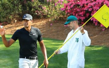 Tony Finau, your new favourite golfer, was the story of the day once again at Augusta