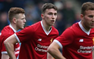 Conor Masterson one of three Liverpool youngsters set for Merseyside derby