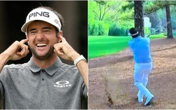 Bubba Watson just pulled off a shot you wouldn't even dream of on the Playstation