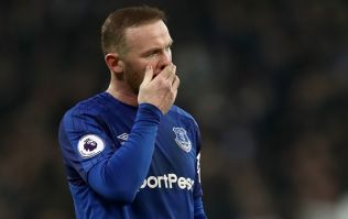 Wayne Rooney didn't react well to getting substituted against Liverpool