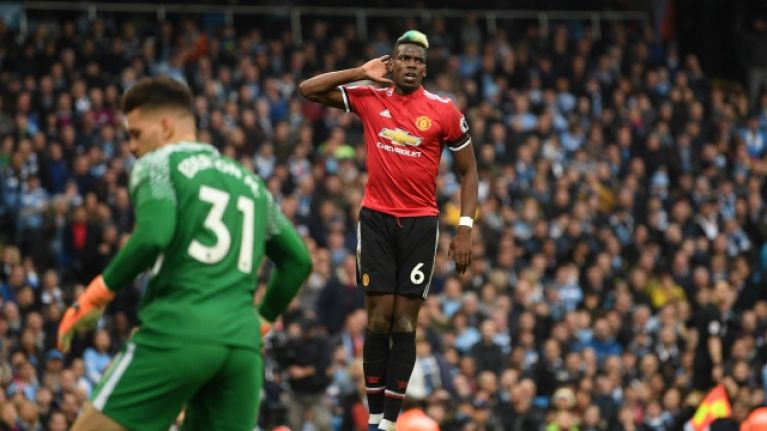 Manchester United Vs Manchester City: Paul Pogba Responds To Critics In The Most Emphatic