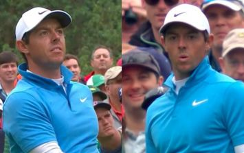WATCH: Rory McIlroy almost sends Augusta gallery into a frenzy with stunning near-ace