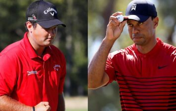 Patrick Reed has always worn red in tribute to Tiger Woods but Nike have other ideas for Masters Sunday