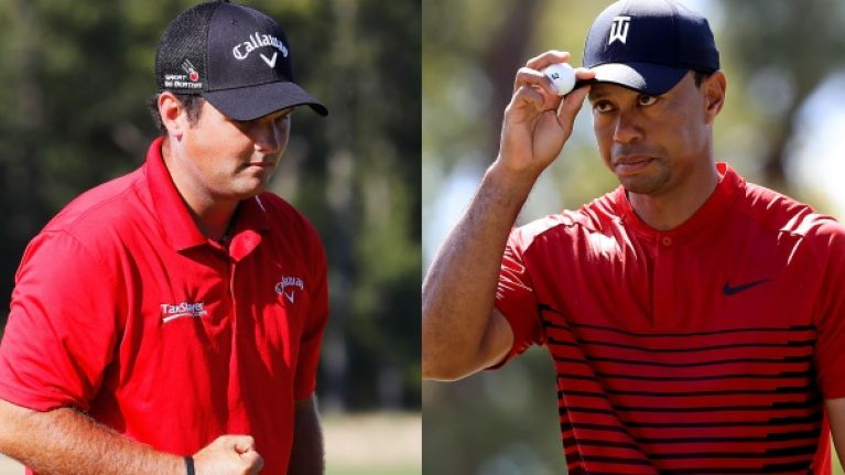 3beba069 Patrick Reed has always worn red in tribute to Tiger Woods but Nike have  other ideas