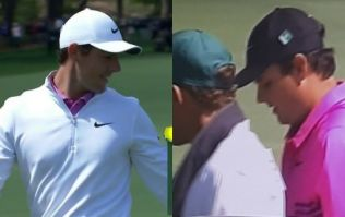 WATCH: McIlroy shows Reed he means business with astonishing approach, Reed responds brilliantly