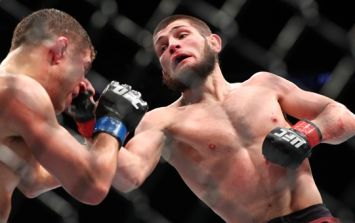 Khabib Nurmagomedov reveals what he was telling Al Iaquinta during their fight