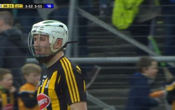 The most skilful moment of Kilkenny Tipperary was cruelly taken away from Padraig Walsh