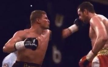 Vicious knockout everyone was anticipating actually came directly before Anthony Joshua vs Joseph Parker