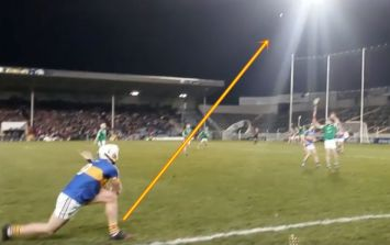 Sit back and admire Ronan Maher's revolutionary sideline technique