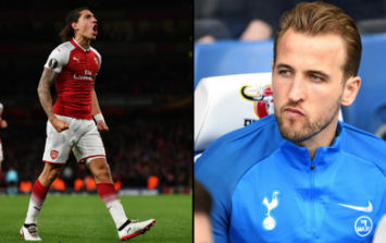 Hector Bellerin needed only five words to rinse Harry Kane over dubious goal controversy
