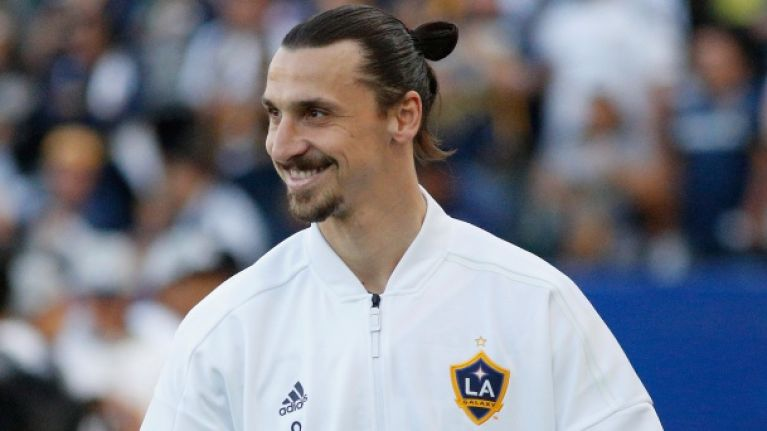 db70d7a210d It didn t take long for Zlatan Ibrahimovic to bag an appearance on popular  American