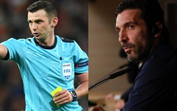 """""""I don't have to make up for anything"""" - Buffon refuses to apologise for Michael Oliver criticism"""