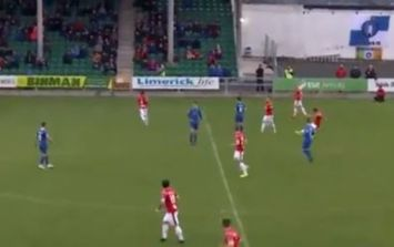 There was a problem with Sligo Rovers' outrageous wondergoal, but they're not to blame