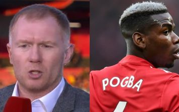 "Paul Scholes thinks Paul Pogba has been ""disrespectful"" towards Jose Mourinho"