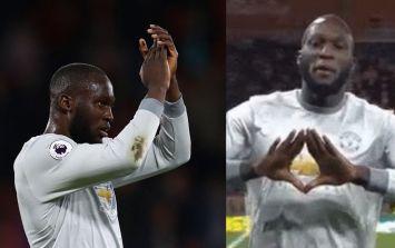 The reason for Romelu Lukaku's celebration against Bournemouth