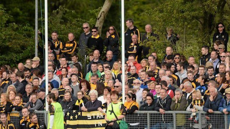GAA scoreline in Antrim is the weirdest looking thing