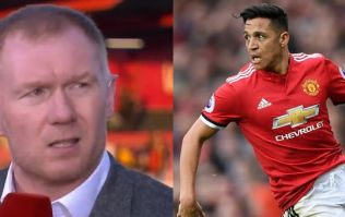 Paul Scholes doesn't think Alexis Sanchez deserves to start Manchester United's FA Cup semi-final against Tottenham