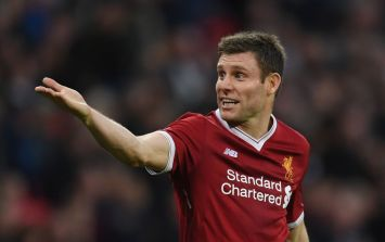 James Milner had a brilliantly self-deprecating response to Liverpool's official kit tweet