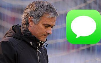Jose Mourinho sent a very unflattering text message about Iker Casillas to Brazilian goalkeeper