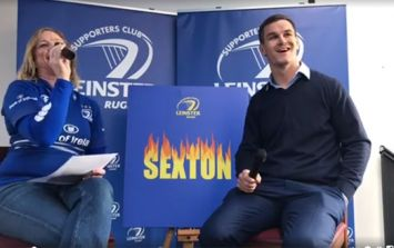 Johnny Sexton: It only took me 12 years to get my own t-shirt