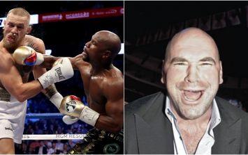 Dana White had a savage response to questionable McGregor vs. Mayweather II rumour