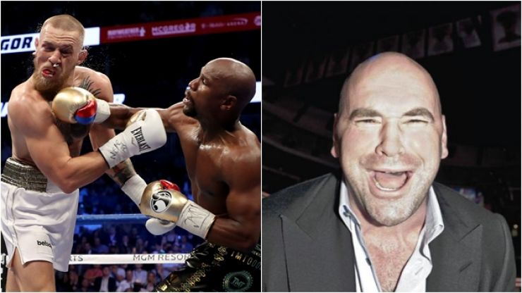 Dana White had a savage response to questionable McGregor vs. Mayweather II rumour