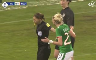 Ireland women's team undone by poor refereeing decision