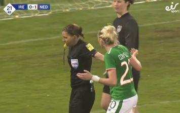 Ireland women's team undone by poor refereeing decision
