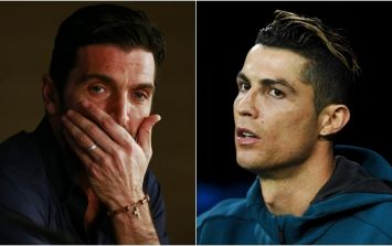 Cristiano Ronaldo shows such respect to Gianluigi Buffon with incredibly classy post-match gesture