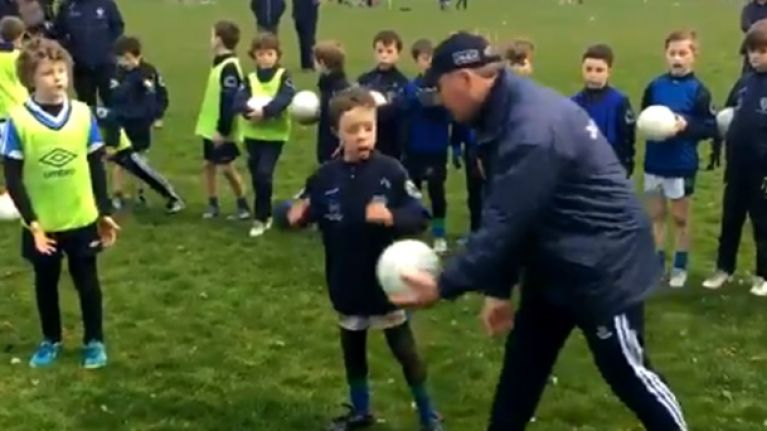 Jim Gavin takes on the toughest challenge of every underage coach in the country