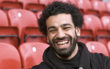 Mo Salah laughs off Sergio Ramos' suggestion that he could have continued playing