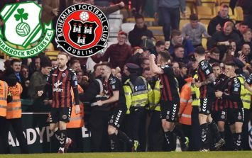 Bohemians rock Rovers with 98th minute winner as ugly scenes blight Dublin Derby