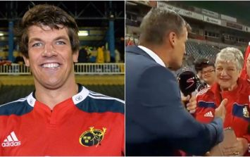 Donncha O'Callaghan's mammy steals the show on live South African TV after Munster victory