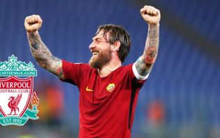 Daniele De Rossi all class with gesture that Liverpool fans will appreciate before game