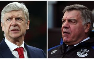 Theo Walcott says Arsene Wenger and Sam Allardyce are on 'completely different levels' as managers